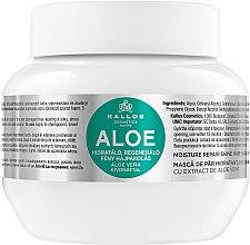 """Parfumuri și produse cosmetice Mască pentru hidratarea și regenerarea părului uscat și deteriorat """"Aloe"""" - Kallos Cosmetics Moisture Repair Aloe Hair Mask"""