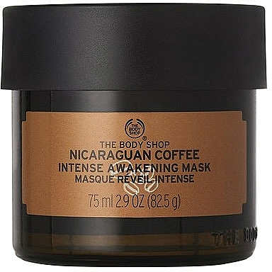 Mască tonifiantă de față - The Body Shop Nicaraguan Coffee Intense Awakening Mask