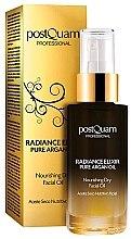 Parfumuri și produse cosmetice Ulei hidratant de față - Postquam Radiance Elixir Pure Argan Facial Oil Nourishing Facial Oil