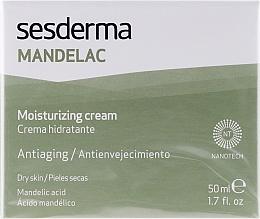 Cremă hidratantă cu acid mandelic - SesDerma Laboratories Mandelac Moisturizing Cream — Imagine N1