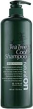 Parfumuri și produse cosmetice Șampon răcoritor cu extract de arbore de ceai - Daeng Gi Meo Ri Naturalon Tea Tree Cool Shampoo