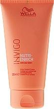 Parfumuri și produse cosmetice Cremă de păr - Wella Professionals Invigo Nutri-Enrich Frizz Control Cream