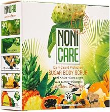 Parfumuri și produse cosmetice Scrub de zahăr pentru corp, cu acizi AHA - Nonicare Garden Of Eden Sugar Body Scrub
