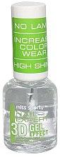 Parfumuri și produse cosmetice Fixator pentru unghii - Miss Sporty Nail Expert 3D Gel Effect Top Coat