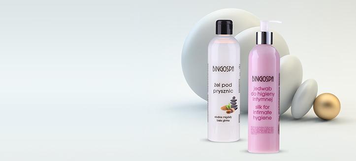 La achiziționarea produselor BingoSpa începând cu suma de 64 RON, primești cadou un gel pentru igiena intimă