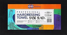 Parfumuri și produse cosmetice Prosoape de unică folosință, 50 bucăți, Negre - Ronney Professional Hairdressing Towel Basic Black