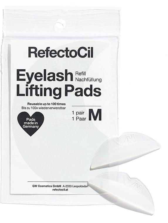 Pernuțe din silicon pentru liftingul genelor - RefectoCil Eyelash Lifting Pads M — Imagine N1