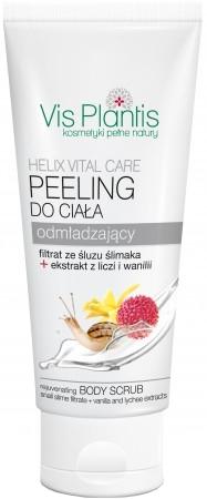 "Scrub cu efect de întinerire pentru corp""Litchi și Vanilie"" - Vis Plantis Helix Vital Care Rejuvenating Creamy Body Scrub — Imagine N1"