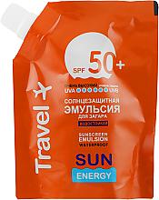 Parfumuri și produse cosmetice Emulsie impermeabilă cu protecție solară SPF 50+ - Sun Energy Waterproof Sunscreen Emulsion SPF 50+ (doypack)