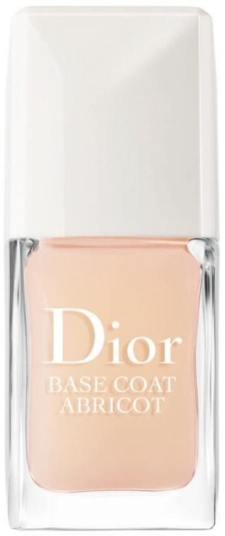 Bază de protecție pentru unghii - Dior Base Coat Abricot