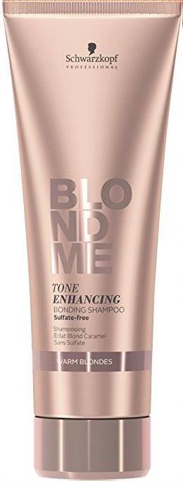 Șampon pentru nuanțe calde - Schwarzkopf Professional Blondme Color Enhancing Rich Caramel Warm Blond Shampoo — Imagine N3