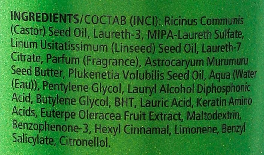 Șampon de curățare pentru păr - Orofluido Amazonia 2 Step Oil Rinse — Imagine N3