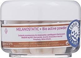 Parfumuri și produse cosmetice Pudră bioactivă iluminantă pentru față - Charmine Rose Melanostatic + Bio Active Powder