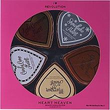 Parfumuri și produse cosmetice Set - I Heart Revolution Heaven (highlighter/5x10g)