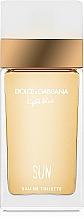 Parfumuri și produse cosmetice Dolce & Gabbana Light Blue Sun Pour Femme - Apă de toaletă
