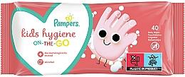 Parfumuri și produse cosmetice Șervețele umede pentru copii, 40 buc - Pampers Kids On The Go