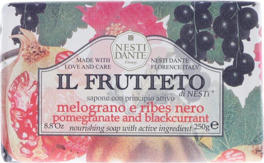 """Săpun """"Rodie și coacăză neagră"""" - Nesti Dante Il Frutteto Soap — Imagine N1"""
