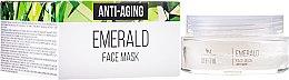 Parfumuri și produse cosmetice Mască pentru față anti-îmbătrânire din smarald natural - SM Collection Crystal Emerald Anti-Aging Face Mask