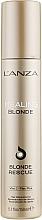 Parfumuri și produse cosmetice Cremă de reconstrucție pentru păr decolorat - L'anza Healing Blonde Rescue
