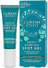 Parfumuri și produse cosmetice Gel antiacneic pentru față - Lumene Puhdas Deeply Purifying Spot Gel