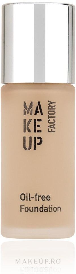 Fond de ten - Make Up Factory Oil Free Foundation — Imagine 34 - Rosy Porcelain