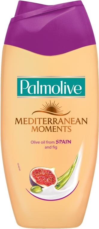 Gel de duș - Palmolive Mediterranean Moments Fig & Olive Spain Oil Shower Gel — Imagine N1