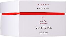 """Parfumuri și produse cosmetice Lumânare parfumată """"Garmonie"""" pentru 3 fitile - AromaWorks Harmony Candle 3-wick"""