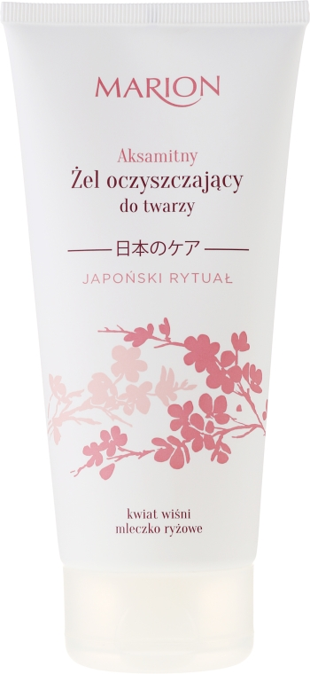 Gel de curățare pentru față - Marion Japanese Ritual Velvet Cleansing Gel For Face