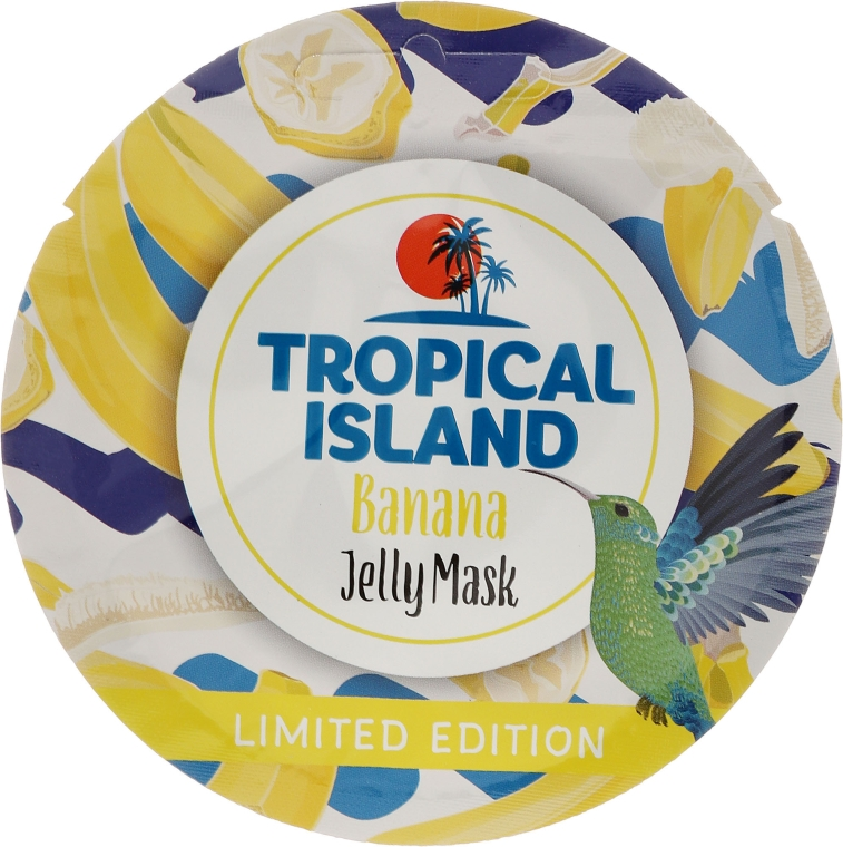"Mască de față ""Banana"" - Marion Tropical Island Banana Jelly Mask"