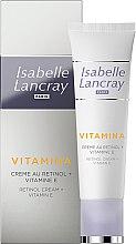 Parfumuri și produse cosmetice Cremă cu retinol și vitamina E - Isabelle Lancray Retinol Cream Vitamin E