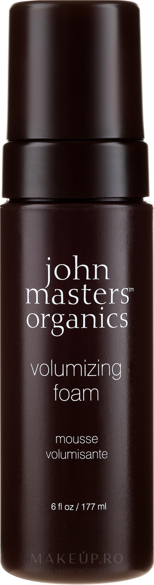 Spumă pentru volumul părului - John Masters Organics Volumizing Foam — Imagine 177 ml
