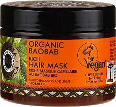 Parfumuri și produse cosmetice Mască de păr - Planeta Organica Organic Baobab Rich Hair Mask