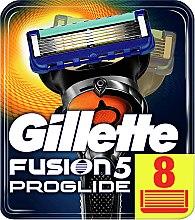 Parfumuri și produse cosmetice Casete de rezervă pentru aparat de ras, 8 buc. - Gillette Fusion ProGlide