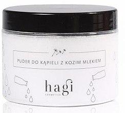 Parfumuri și produse cosmetice Pudră pentru baie cu lapte de capră - Hagi Bath Puder