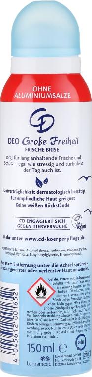 "Deodorant-antiperspirant ""Briză de mare"" - CD Deo — Imagine N2"