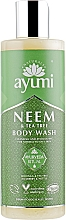 """Parfumuri și produse cosmetice Gel de duș """"Arbore de Neem și Arbore de ceai"""" - Ayumi Neem & Tea Tree Body Wash"""