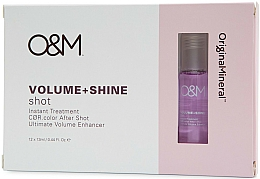 Parfumuri și produse cosmetice Produs pentru strălucirea și volumul părului - Original & Mineral Volume + Shine Instant Shot Treatment