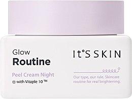 Parfumuri și produse cosmetice Cremă de noapte pentru față - It's Skin Glow Routine Peel Cream Night