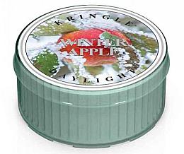 Parfumuri și produse cosmetice Lumânare de ceai - Kringle Candle Winter Apple Daylight