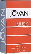Parfumuri și produse cosmetice Jovan Musk For Men - Apă de colonie