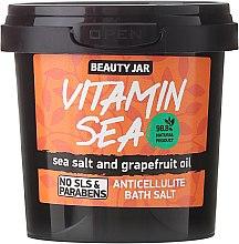 """Parfumuri și produse cosmetice Sare de baie """"Vitamin Sea"""" - Beauty Jar Anticellulite Bath Salt"""