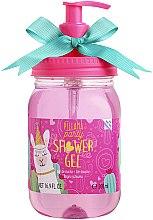 Parfumuri și produse cosmetice Air-Val International Eau My Llama Pillama Party - Gel de duș