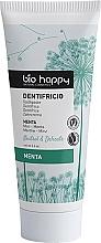Parfumuri și produse cosmetice Pastă de dinți, cu extract de mentă - Bio Happy Neutral&Delicate Toothpaste Mint Flavor