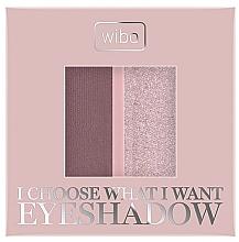 Parfumuri și produse cosmetice Farduri de ochi - Wibo I Choose What I Want Duo Eyeshadow