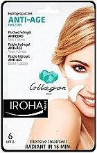 Parfumuri și produse cosmetice Patch-uri sub ochi - Iroha Nature Anti Age Hydrogel Patches Collagen