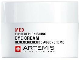 Parfumuri și produse cosmetice Cremă revitalizantă pentru pleoape - Artemis of Switzerland Med Lipid Replenishing Eye Cream