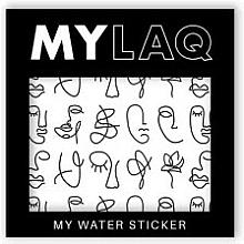 """Parfumuri și produse cosmetice Abțibilduri pentru unghii """"Art"""" - MylaQ My Line Art sticker"""