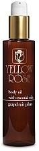 Parfumuri și produse cosmetice Ulei de corp cu extract de grapefruit - Yellow Rose Body Oil Grapefruit Plus