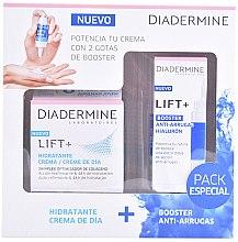 Parfumuri și produse cosmetice Set - Diadermine Lift + Booster Hialuronic Set (cr/50ml+booster/15ml)