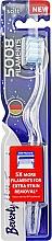 Parfumuri și produse cosmetice Periuță de dinți moale, albastru-albă - Beverly Hills Formula 5008 Filament Multi-Colour Toothbrush
